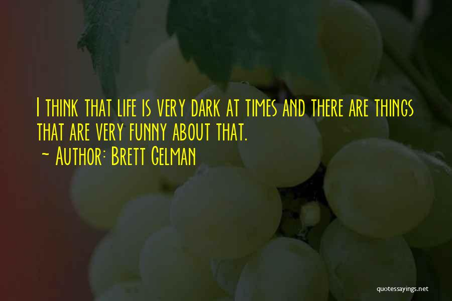 Funny Things About Life Quotes By Brett Gelman