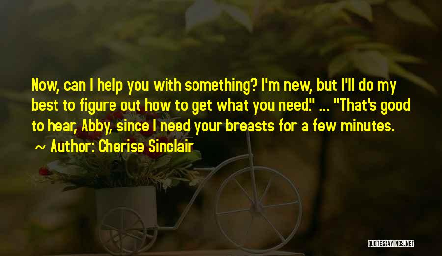 Funny You Need Help Quotes By Cherise Sinclair