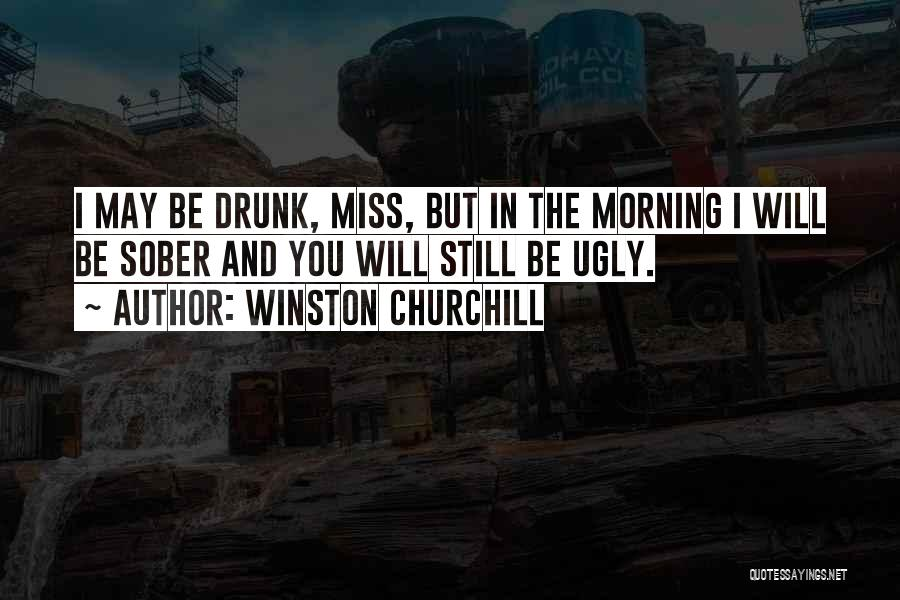 Funny You'll Miss Me Quotes By Winston Churchill