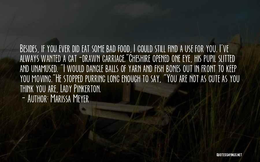 Funny You're Cute Quotes By Marissa Meyer