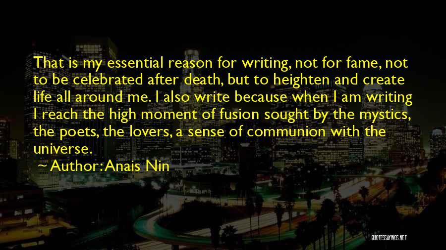 Fusion Quotes By Anais Nin