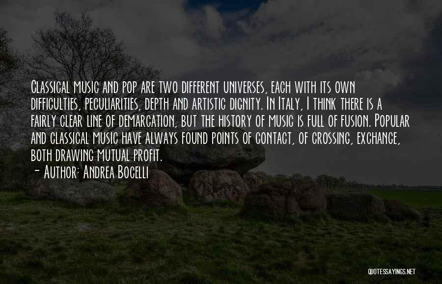 Fusion Quotes By Andrea Bocelli
