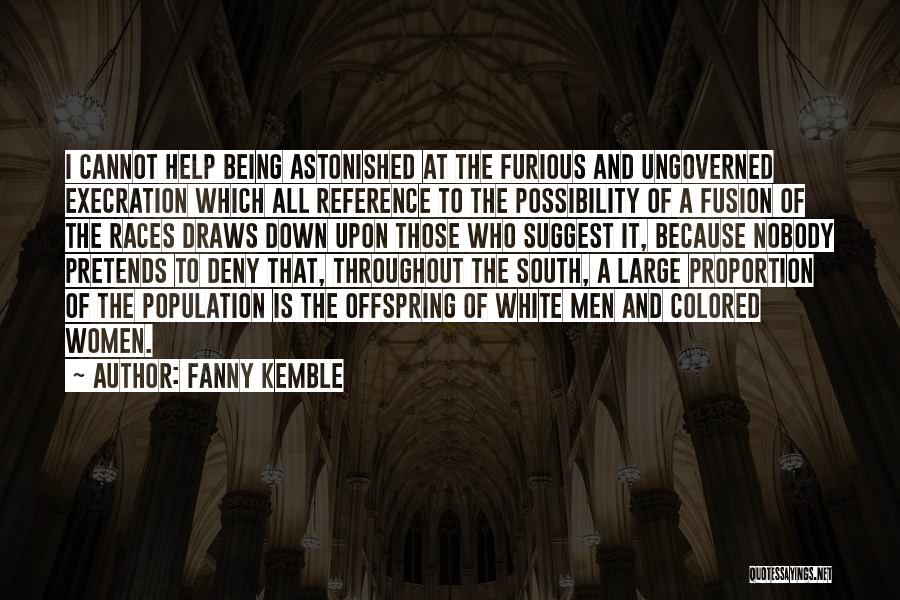 Fusion Quotes By Fanny Kemble