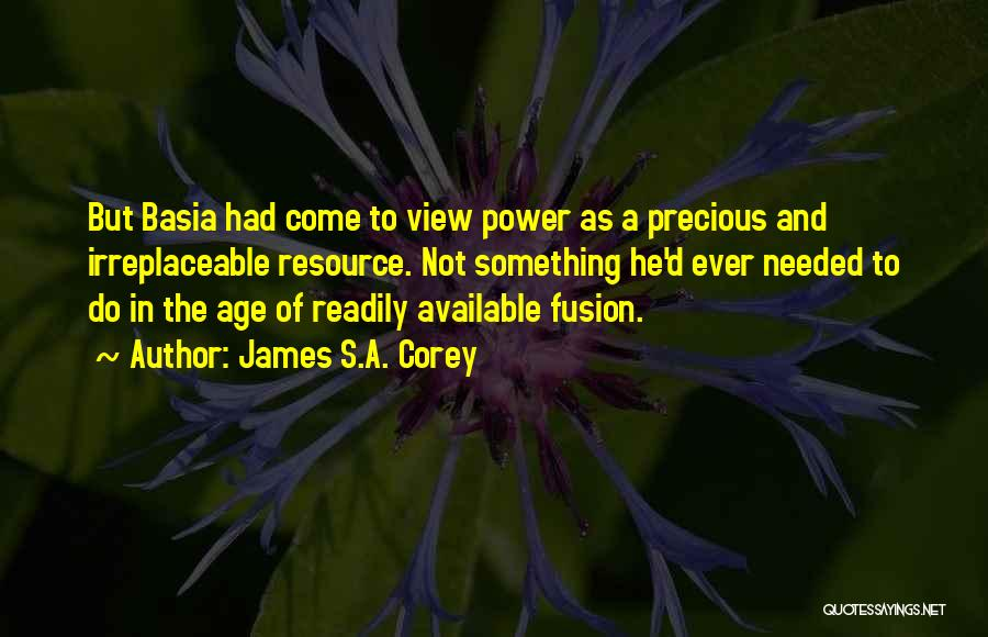 Fusion Quotes By James S.A. Corey