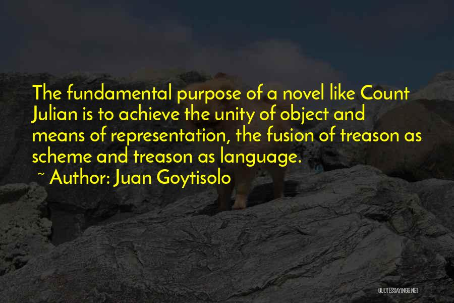 Fusion Quotes By Juan Goytisolo