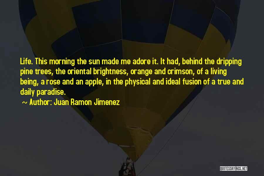 Fusion Quotes By Juan Ramon Jimenez