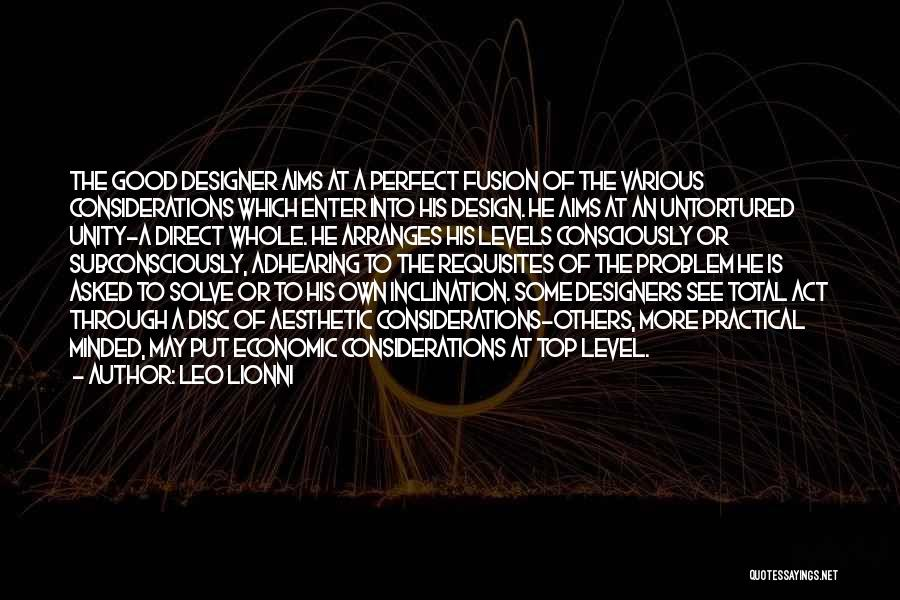 Fusion Quotes By Leo Lionni