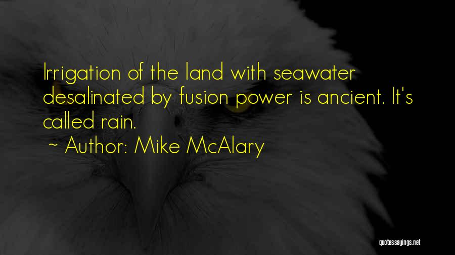 Fusion Quotes By Mike McAlary