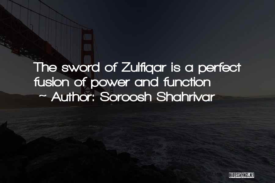 Fusion Quotes By Soroosh Shahrivar