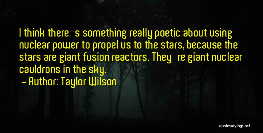 Fusion Quotes By Taylor Wilson