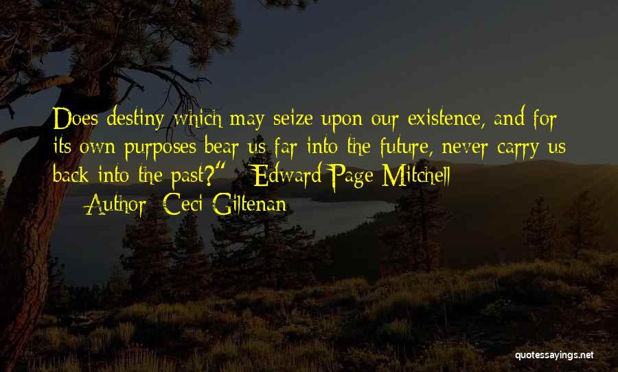 Future And Destiny Quotes By Ceci Giltenan