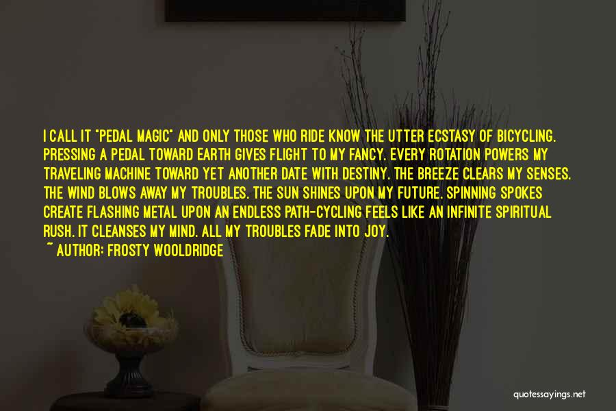 Future And Destiny Quotes By Frosty Wooldridge