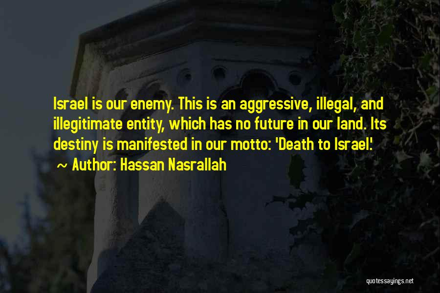 Future And Destiny Quotes By Hassan Nasrallah