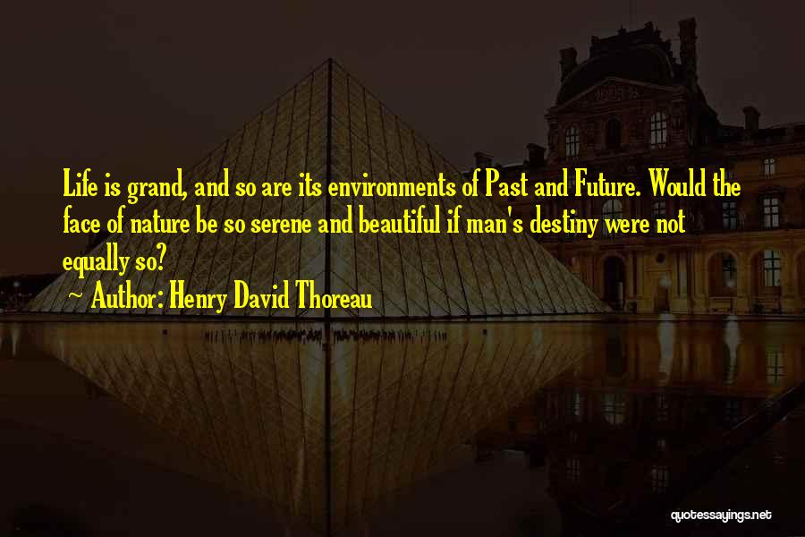 Future And Destiny Quotes By Henry David Thoreau