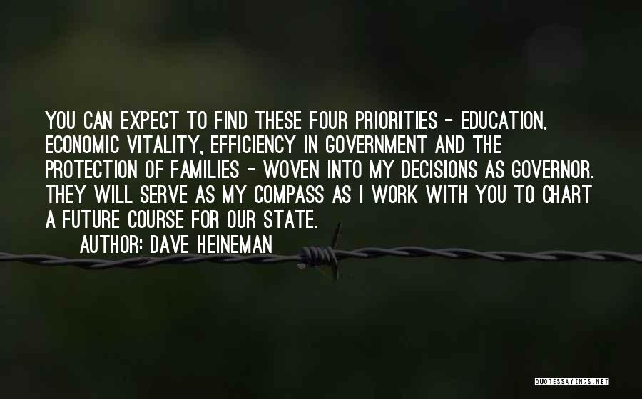 Future And Education Quotes By Dave Heineman