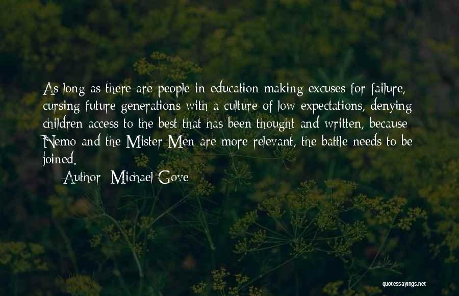 Future And Education Quotes By Michael Gove