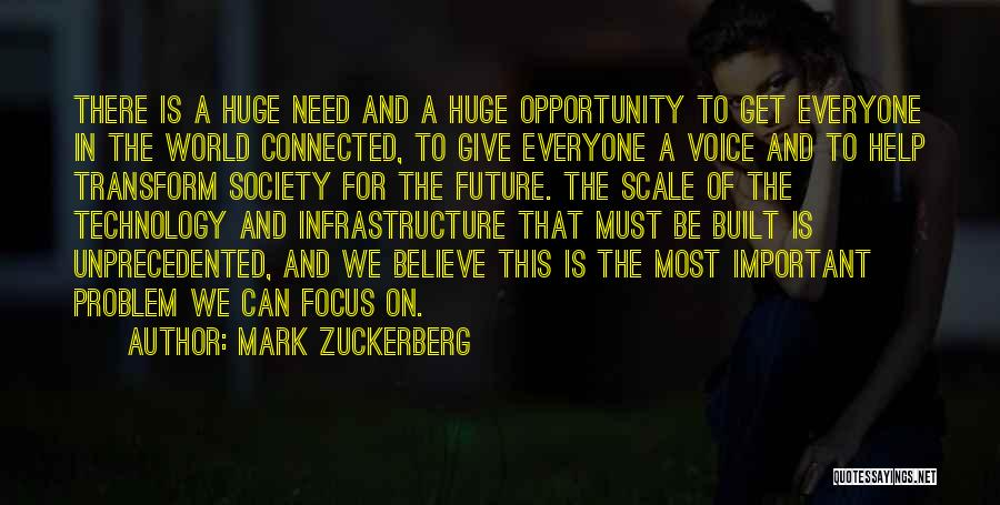 Future And Technology Quotes By Mark Zuckerberg