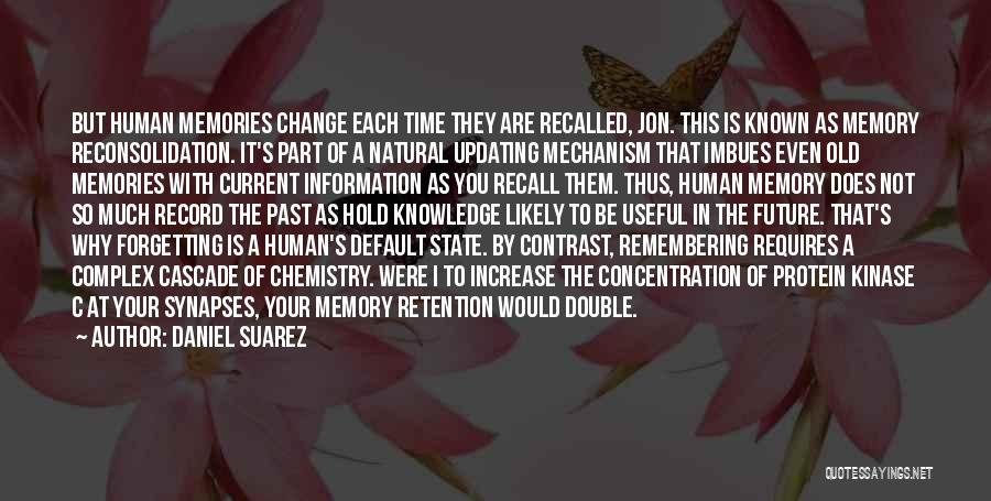 Future Not Past Quotes By Daniel Suarez