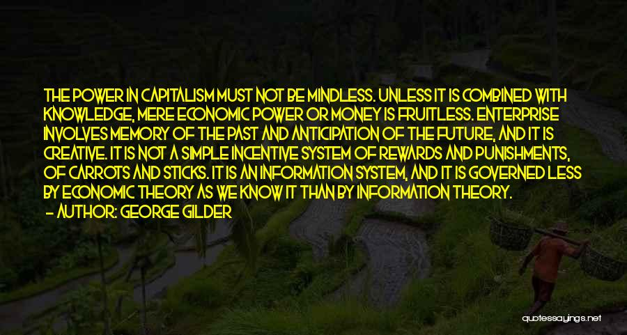 Future Not Past Quotes By George Gilder