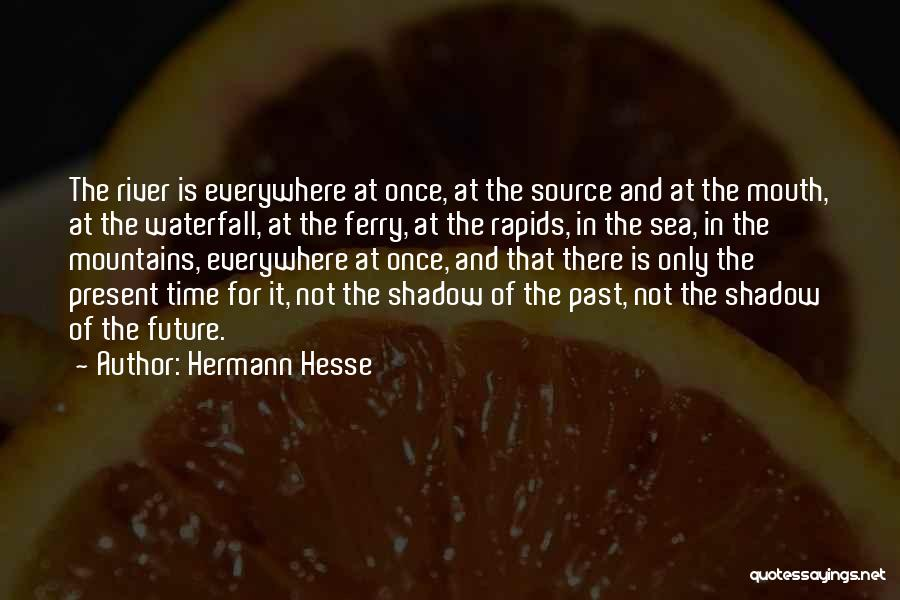 Future Not Past Quotes By Hermann Hesse