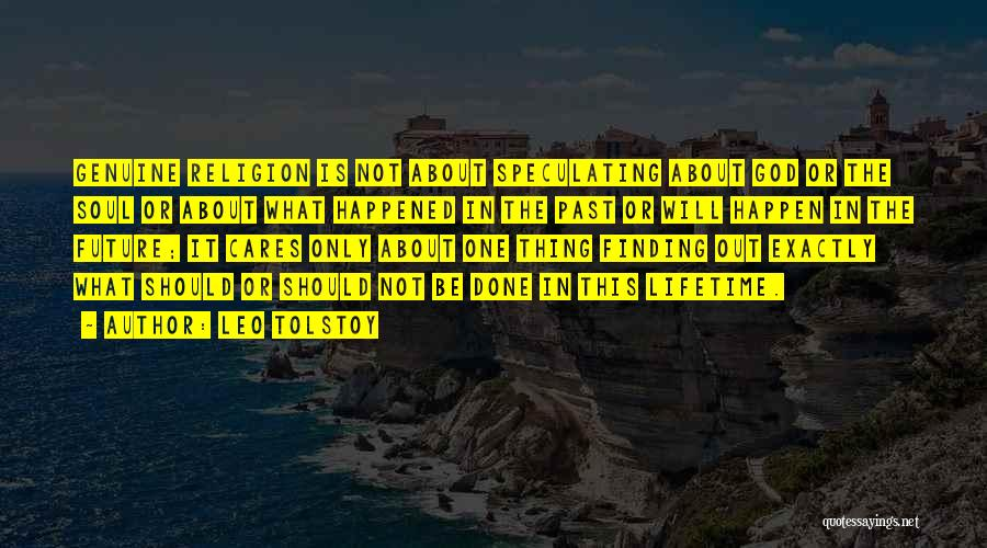 Future Not Past Quotes By Leo Tolstoy