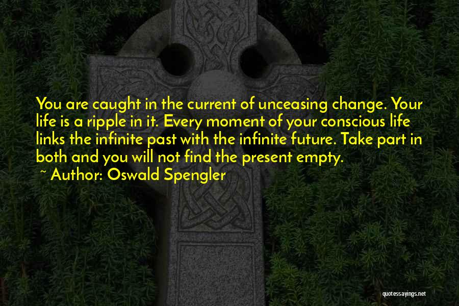 Future Not Past Quotes By Oswald Spengler