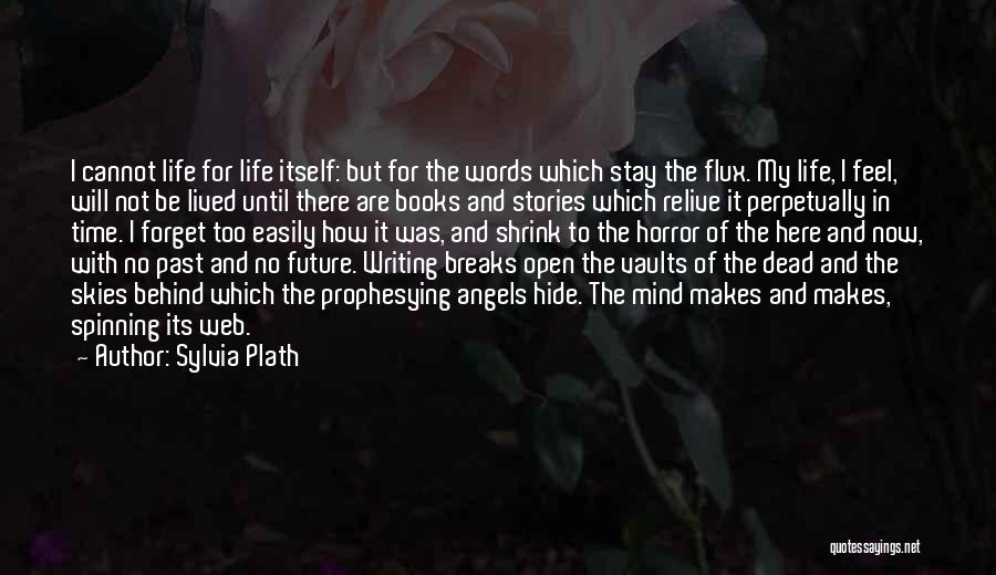 Future Not Past Quotes By Sylvia Plath