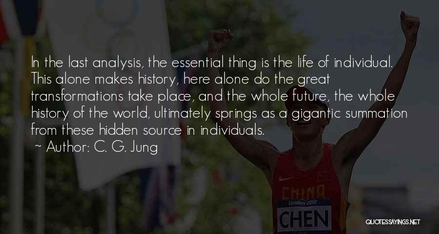 Future World Quotes By C. G. Jung