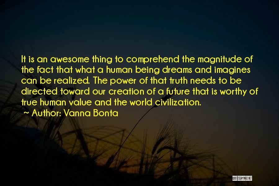 Future World Quotes By Vanna Bonta