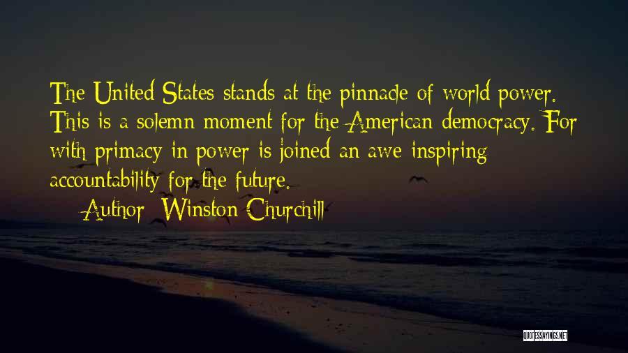 Future World Quotes By Winston Churchill