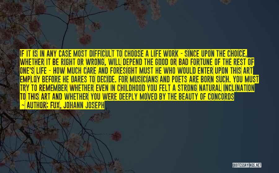 Fux, Johann Joseph Quotes 156122