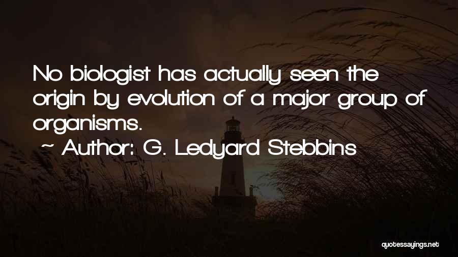 G. Ledyard Stebbins Quotes 919215