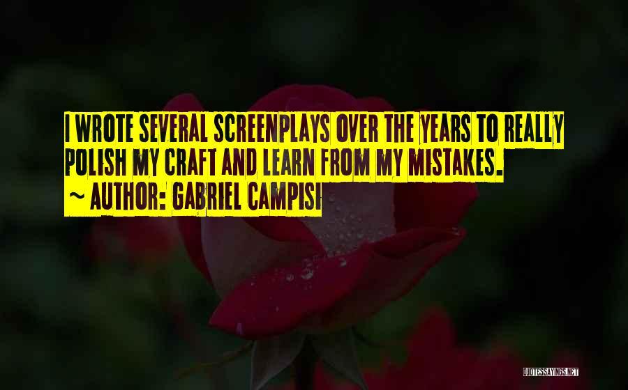 Gabriel Campisi Quotes 964925