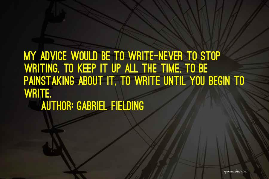 Gabriel Fielding Quotes 1704999
