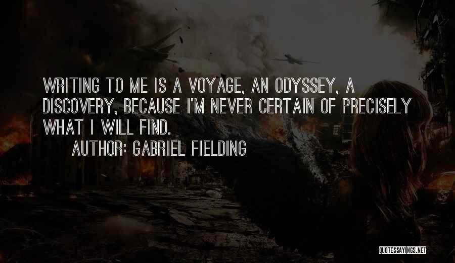 Gabriel Fielding Quotes 230426