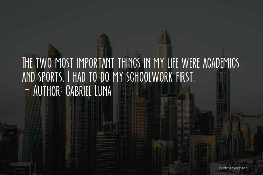 Gabriel Luna Quotes 699075