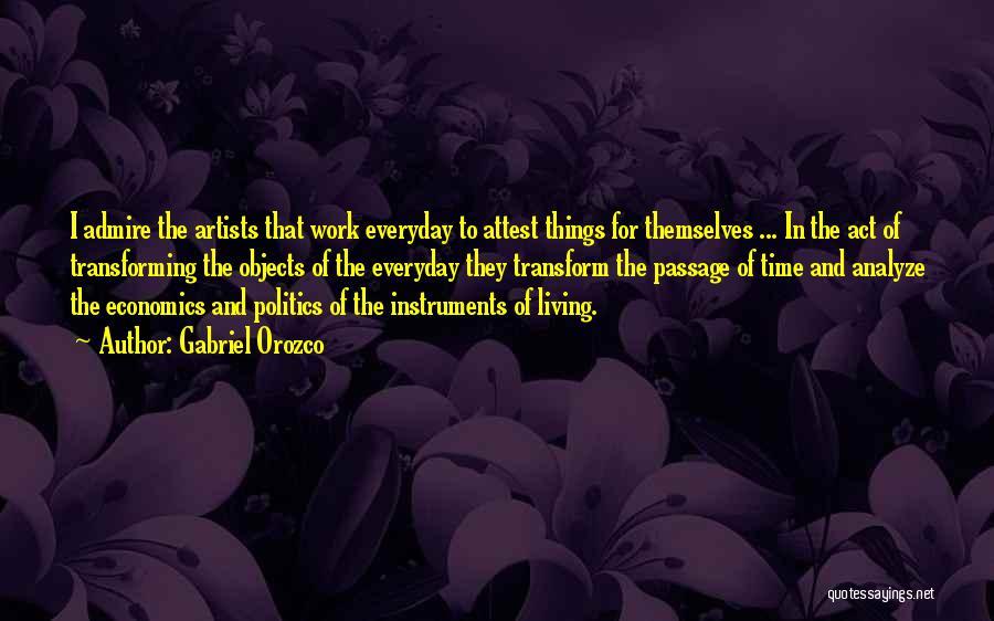 Gabriel Orozco Quotes 1084484
