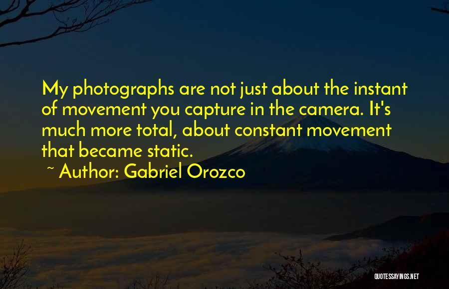 Gabriel Orozco Quotes 511284