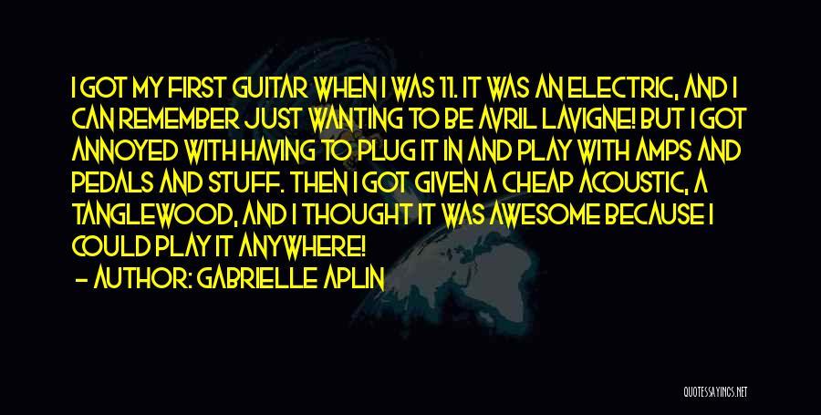 Gabrielle Aplin Quotes 2047161