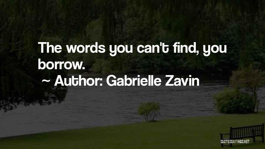 Gabrielle Zavin Quotes 999495