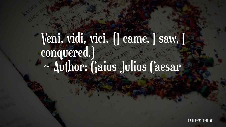 Gaius Julius Caesar Quotes 1596555