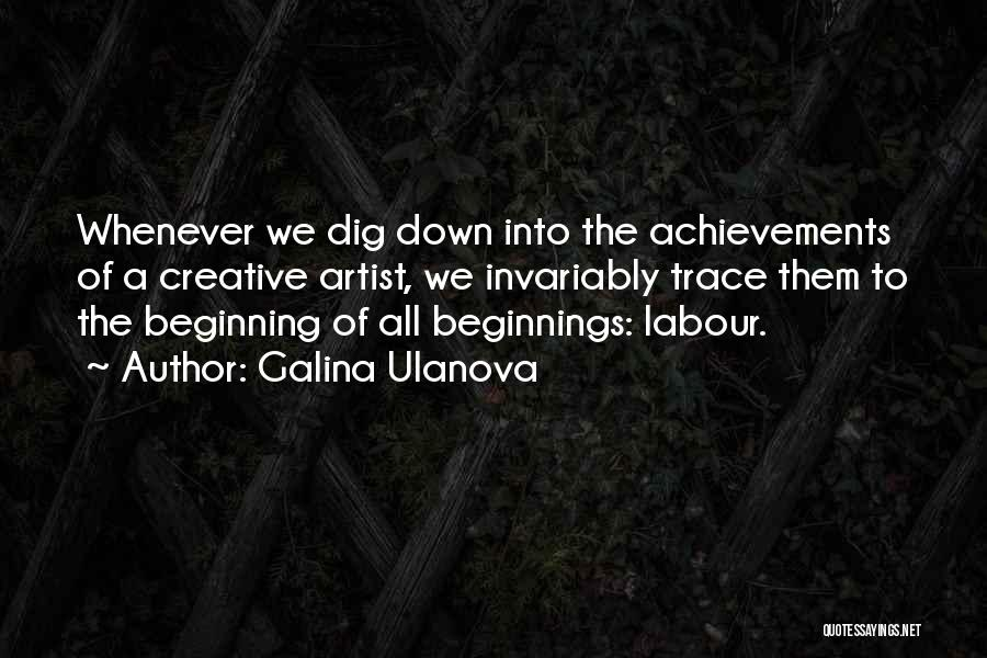 Galina Ulanova Quotes 1549206