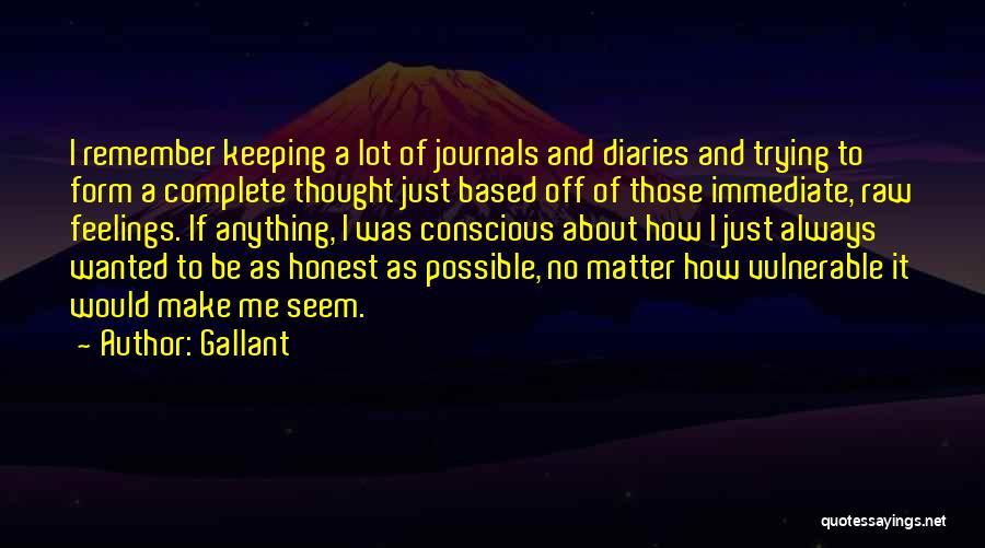 Gallant Quotes 96842