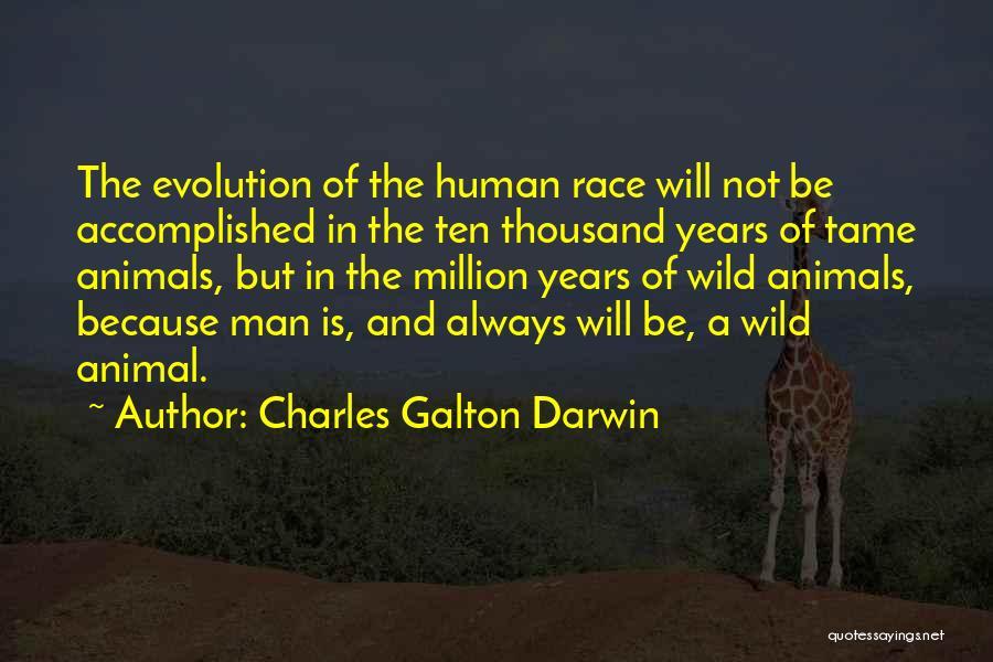Galton Quotes By Charles Galton Darwin