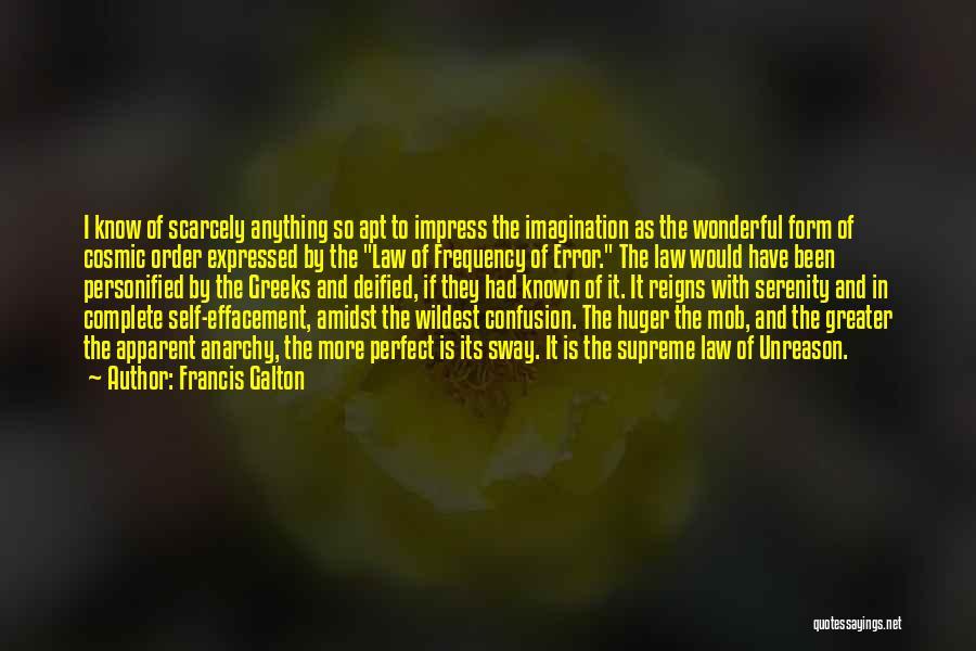 Galton Quotes By Francis Galton