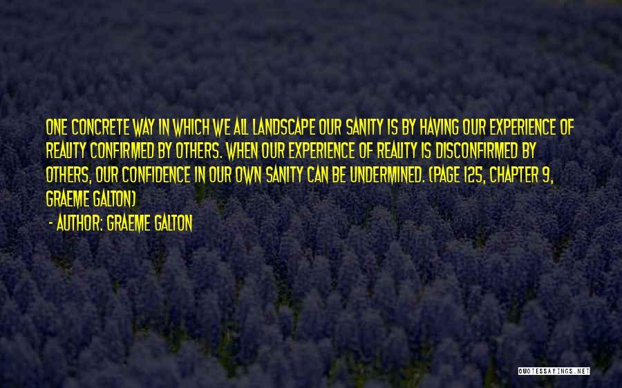 Galton Quotes By Graeme Galton