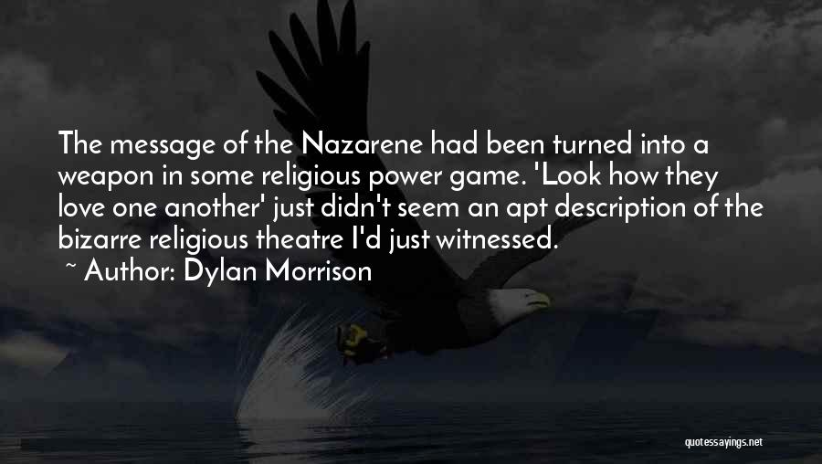 Game Of Love Quotes By Dylan Morrison