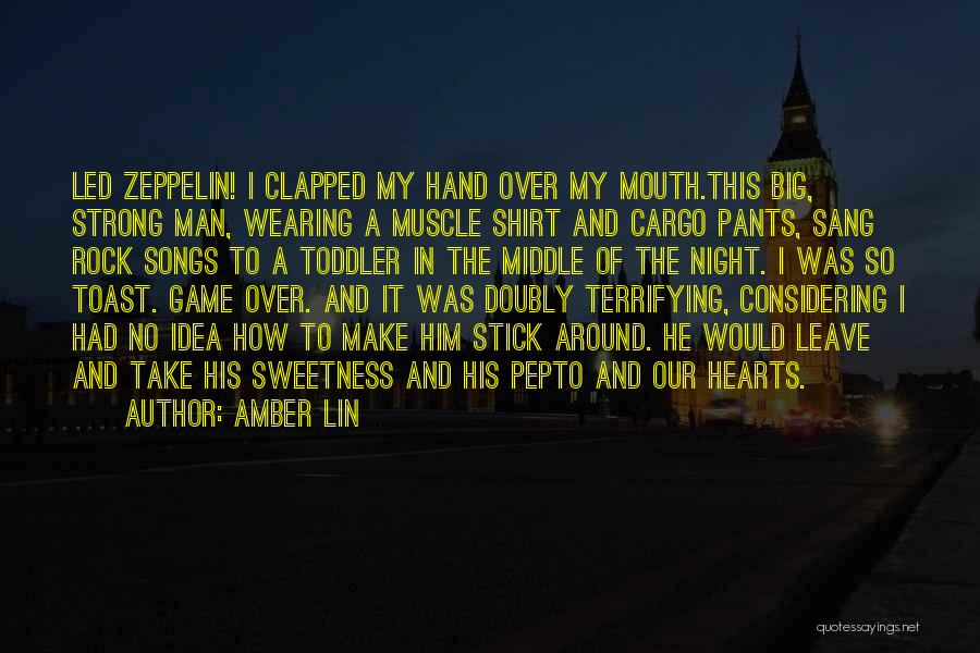 Game Over Man Quotes By Amber Lin