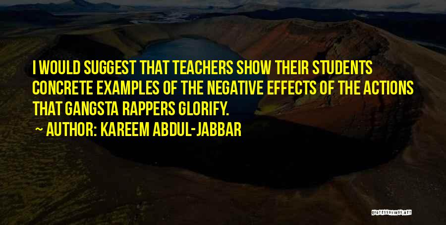 Gangsta Quotes By Kareem Abdul-Jabbar