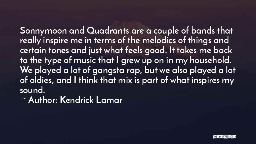 Gangsta Quotes By Kendrick Lamar